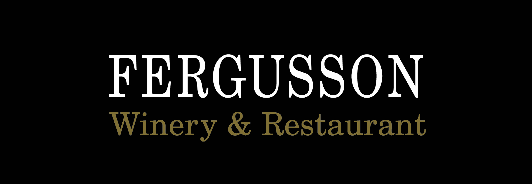 Fergusson Winery and Restaurant logo
